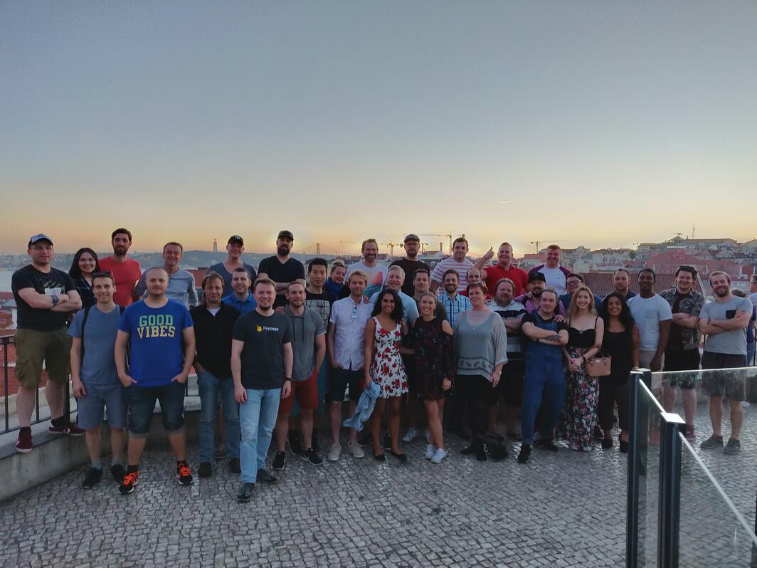 TrademarkNow Team in Lisbon