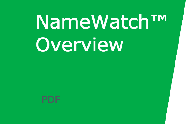 trademarknow-namewatch-one-page-overview
