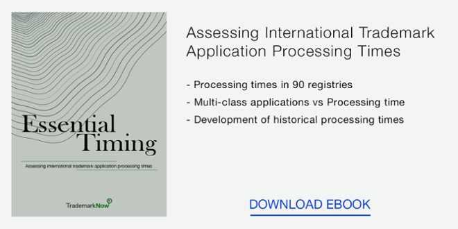 Download the Trademark Application Processing Times eBook