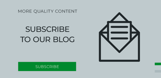 Subscribe to our blog to get more quality content